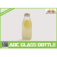 Buy cheap Wholesale eco-friendly clear juice glass bottle bulk from wholesalers