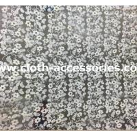 Buy cheap 1.35M Applique Mesh Netting Fabric / Bridal Lace Fabric For Wedding Dresses from wholesalers