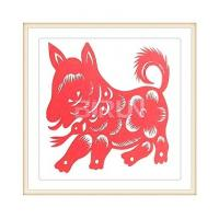 Buy cheap Dog Chinese Paper Cutting from wholesalers