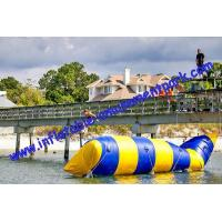 Buy cheap Hot Summer Inflatable Water Toys / Aqua Jump Spot With 0.9mm Pvc Tarpaulin from wholesalers