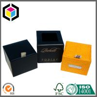 Buy cheap Luxury Paper Gift Box with Custom LOGO Gold Foil Print from wholesalers
