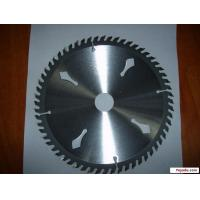 Buy cheap Multi TCT circular saw blade chipboard wood cutting slitting peper and plastic from wholesalers