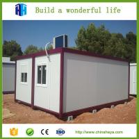 Buy cheap Quality prefab house 20 ft shipping container office modular cabins from wholesalers