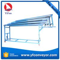 Buy cheap Robust Extendible Gravity Roller Conveyor for Unloading Container,Vehicles of All Sizes from wholesalers