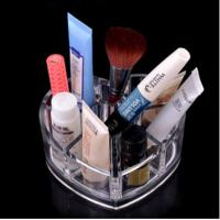 Buy cheap Small Size Clear Acrylic Makeup Organizer Container Store For Bathroom from wholesalers