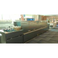 Buy cheap Energy Efficient Commercial Dishwasher For Hotels , Conveyor Dish Machine from wholesalers