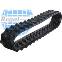 Buy cheap snowmobile rubber track 15x168 with a 2 inch made from natural rubber for sale for Excavator/Harvester from wholesalers