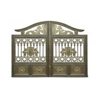 China Architectural Wrought Iron Cast Iron Garden Gate European Style on sale