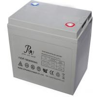 Buy cheap Valve Regulated Electric Vehicle Lead Acid Battery 12V 50Ah With High Safe Energy from wholesalers