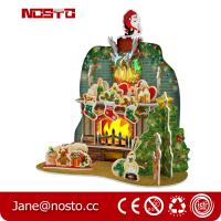 Buy cheap DIY 3D Puzzle Christmas Toy with RGB lights Giftware from wholesalers