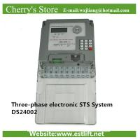 Buy cheap electricity meter Three-phase electronic STS System D524002 from wholesalers