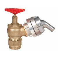 Buy cheap Brass 2.5 Fire Hydrant Landing Valve OEM / ODM For Water Applications product