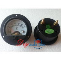 Buy cheap 52mm DC 500V Tube AMP Parts 65mm Overall Diameter Moving Coil Panel Meter from wholesalers