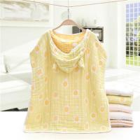 China Reactive Dyeing Hooded Child Towel , Wrapping Towel For Babies Eco Friendly on sale