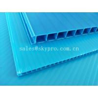 Buy cheap Ultraviolet - Proof Clear Plastic Hollow Board Corrugated Environmentally Friendly product