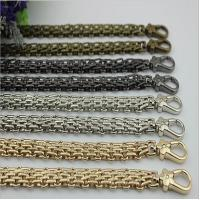 Buy cheap New product design zinc alloy snap hooks match 120 mm iron material gold chain for bag from wholesalers