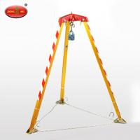 Buy cheap Industrial lifting tool rescue tripod 400KG Loading weight product