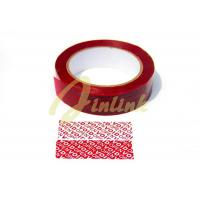 Buy cheap Tamper evident security tape with sequential number and perforation, Partial transfer Tamper Proof VOID security Tape from wholesalers
