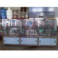 PET / PP Plastic Bottle Automatic Water Filling Machine For Beverage / Pure Water