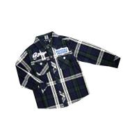 Buy cheap Eco - Friendly comfortable Casual kids plaid tee shirts with Long Sleeve for winter from wholesalers