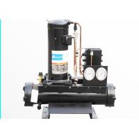 Buy cheap 6HP Copeland Compressor Walk In Freezer Condensing Unit Water Cooled from wholesalers