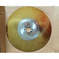 Buy cheap Flying saw cold cut TiN Titanium Nitride Dmo5/M2 HSS circular saw blade from Wholesalers