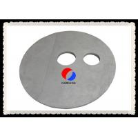 Buy cheap Round Shape Rigid Carbon Fiber Board Felt Customized Thickness PAN Based from wholesalers
