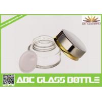 Buy cheap Hot Sale 20ml Colored Glass Bottles Sale, Skin Care Cream Clear Glass Bottle from wholesalers