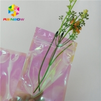 Buy cheap 3 Side Sealed Small PE Holographic Ziplock Pouches Custom Laser Printing from wholesalers