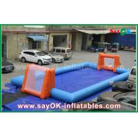 Buy cheap Word Cup PVC Inflatable Sports Games , Customized Inflatable Football Pitch from wholesalers