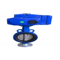 Buy cheap SS316 Electric Butterfly Valve from wholesalers
