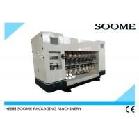 Buy cheap Inline Heavy Slitting Creasing Machine, Electric Adjustment Of Knife Corrugarted Slitter 200M / MIN from wholesalers