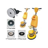 Buy cheap Electric Single Disc Carpet Floor Cleaning Machine , Aluminium Chassis from wholesalers