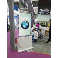 Quality Android 9.1 43in Floor Standing Digital Signage Transparent Oled for sale