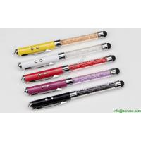 Buy cheap fancy laser pen with touch tip,laser ball pen with led touch tip from wholesalers