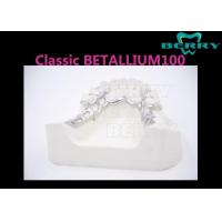 Buy cheap Keep Glossy Metal Framework Partial Denture With High Polishing Surface from wholesalers