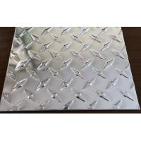 Buy cheap Non Slip Alloy Checker Plate , Diamond Aluminum Sheet For Construction Decoration product