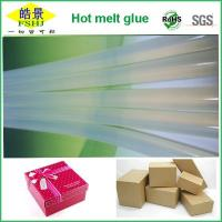Buy cheap High Clear EVA Hot Melt Glue Sticks Anti - yellowing Hot Melt Silicon Bar For Packaging Business from Wholesalers