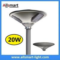 China New 20W 2000lm UFO Solar Garden Lights All In One Parking Lot Lamp Solar Energy Products With 40W Solar Panel Aluminum on sale