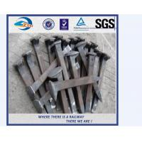 Buy cheap High Tensile Strengt Railroad Track Spikes With ISO9001 Certificate from wholesalers