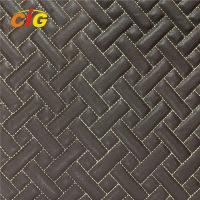 Buy cheap Car Floor Car Seat Pu Artificial Leather Abrasion Resistant 4mm - 6mm For Foam product