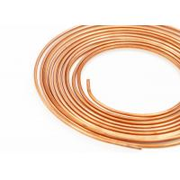 Buy cheap Heat ConductionAircon Copper Tubing , C11000 / C12000 / C12200 Copper Pipe from wholesalers