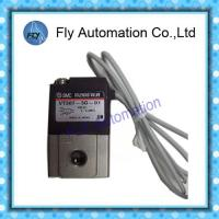 Buy cheap SMC 3 Port Solenoid Air Valve Direct Operated Poppet Type VT307 Series 1/8 And 1/4 Inch from wholesalers