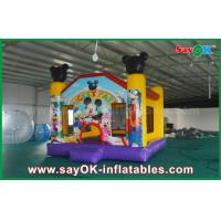 Buy cheap Micky Mouse Inflatable Jumping Castle Popular Happy Hop Bouncy Castle from wholesalers