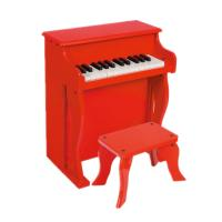 Buy cheap Baby Upright Mini 25 Key Antique Toy Piano Red / Black For Home U25 from wholesalers