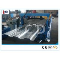 Buy cheap Steel Structure Floor Deck Roll Forming Machine Ceiling Use High Efficiency from wholesalers
