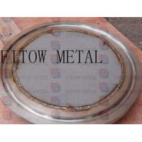 Buy cheap Titanium Micropore Sintered Metal Filter Plate from wholesalers