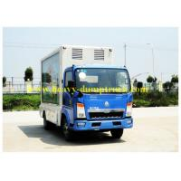 Buy cheap CCC / BV Refrigerated Box Truck 95 hp with Euro IV emission for meat and fish from wholesalers