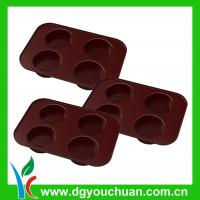 Buy cheap Custom Desinged Heat-resisting Ice Cube Trays sports Silicone Kitchenware from wholesalers