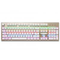 Buy cheap Customized ergonomic keyboard for gaming , green led mechanical keyboard from wholesalers